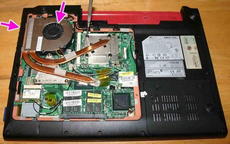 Почему сильно греется ноутбук